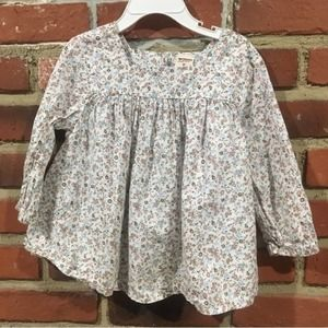 🌈 5 for $25 Floral Flowy Top Sz 5T